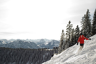 Snowboarder - p0810575 by Alexander Keller