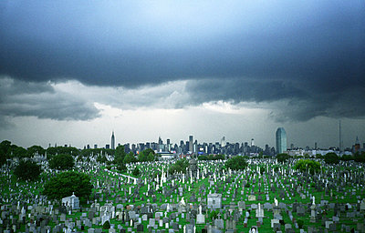Cemetery of a big town - p567m720870 by Jesse Untracht-Oakner