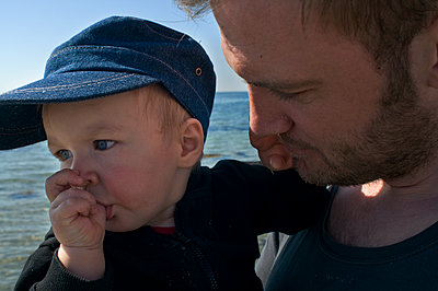 Father and son - p972m1333432 by Gerry Johansson