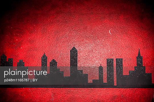 Ehemalige Skyline von NEw York City - p248m1165787 von BY