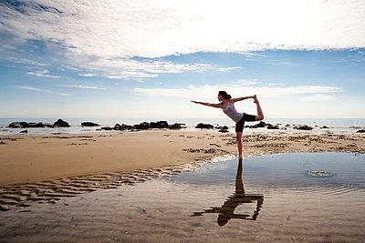 Yoga - p6691729 by Julian Winslow