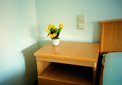 Vase mit gelben Tulpen - p3880955 von Klaus Vyhnalek