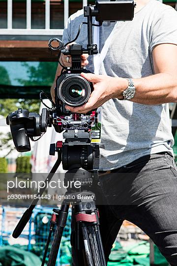 Filmaufnahmen - p930m1154443 von Phillip Gätz