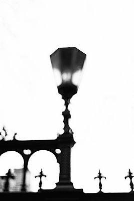 Vintage Street Lamp - p1335m2133746 by Daniel Cullen