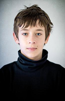 Portrait of a Boy - p1390m1525116 by Svetlana Sewell