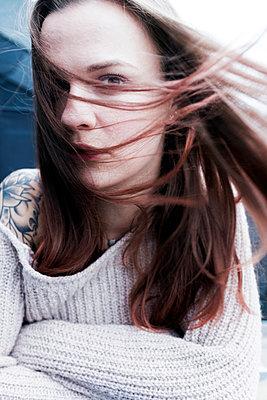 Wind im Haar - p1340m1502804 von Christoph Lodewick