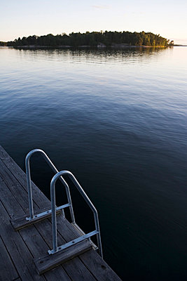 A jetty in the archipelago of Stockholm Sweden. - p31218174f by Plattform