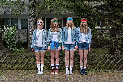 Tennis socks - p1066m1122618 by Ulrike Schacht