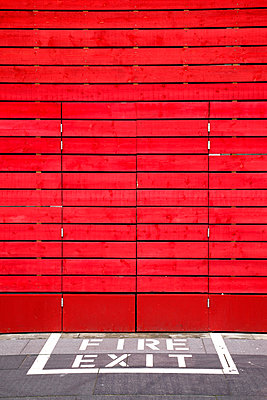 Red wall - p382m949363 by Anna Matzen