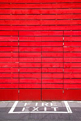 Red wall - p382m949363 by Anna Matzen