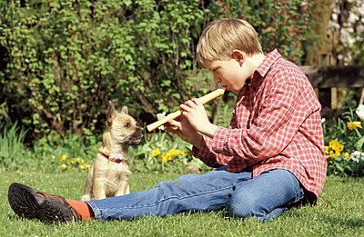 Dem Hund was flöten - p0210520 von Siegfried Kuttig