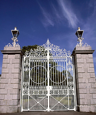 Aras an Uachtarain, Phoenix Park, Dublin, Co Dublin, Ireland; Official residence of the President of Ireland - p4428718 by The Irish Image Collection