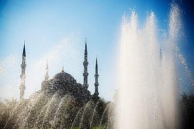 Blaue Moschee in Istanbul - p5400079 von Claire Morgan