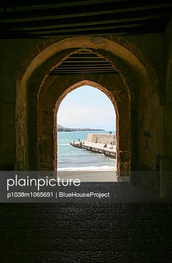 Harbour mole - p1038m1065691 by BlueHouseProject