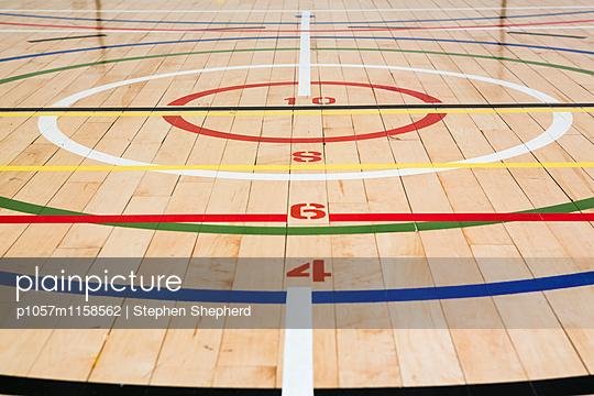 Turnhalle - p1057m1158562 von Stephen Shepherd