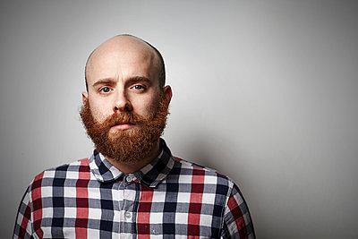 Man with beard - p921m882314 by Boris Leist