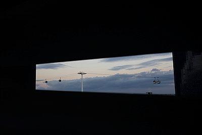 Cableway - p1063m953955 by Ekaterina Vasilyeva