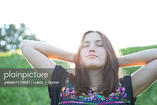 Durchatmen - p454m1170907 von Lubitz + Dorner