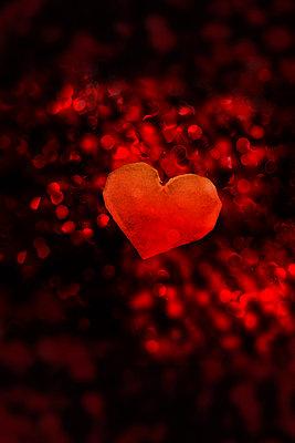 Leuchtendes Herz    - p450m1052023 von Hanka Steidle