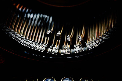 Schreibmaschine - p829m715922 von Régis Domergue