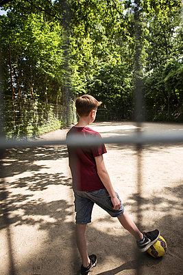 Junger Fußballspieler - p1222m1154527 von Jérome Gerull