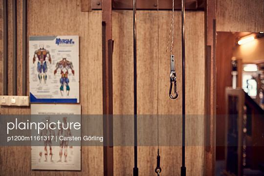 Bodybuiling-Studio - p1200m1161317 von Carsten Görling