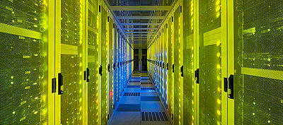 datacenter interior - p1132m1537901 by Mischa Keijser