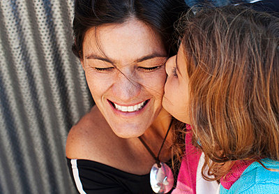 Portrait of mother and daughter - p312m695858 by Juliana Wiklund