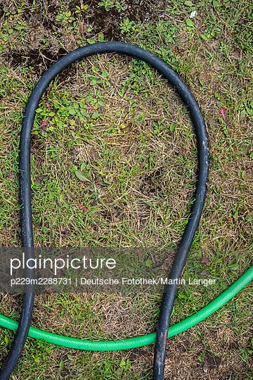 Garden hoses - p229m2288731 by Martin Langer