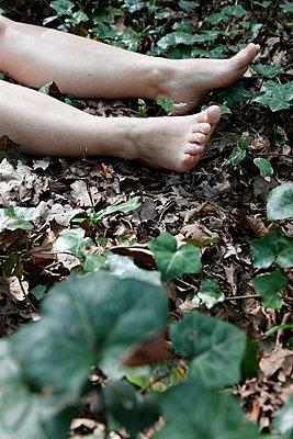 Dead body - p238m660501 by Anja Bäcker