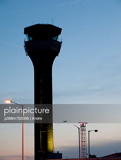 Control tower of airport - p388m702068 by Andre