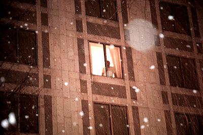 Dem Schneefall zusehen - p5580043 von A.da Cunha