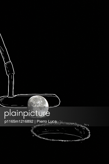 Imaginäres Golfspiel - p1165m1216892 von Pierro Luca