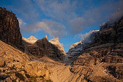 Bergsteigen - p7410012 von Christof Mattes