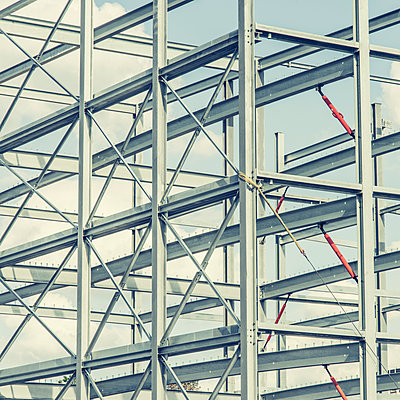 Stahlkonstruktion - p401m1059513 von Frank Baquet