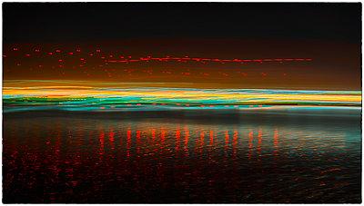 Lichtspuren - p1154m2053621 von Tom Hogan