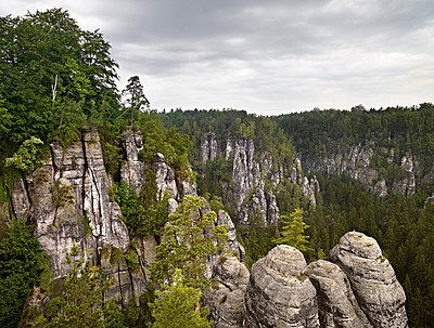 Elbe Sandstone Mountains - p9180086 by Dirk Fellenberg