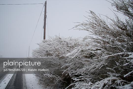 Snowroad - p378m2085723 by Kelvin Hudson