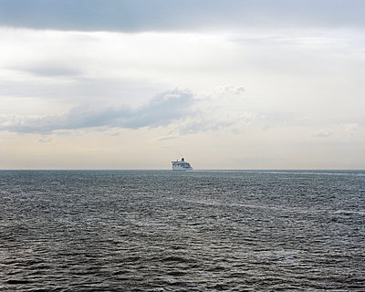 Ferry in the English Channel - p1409m1466049 by margaret dearing