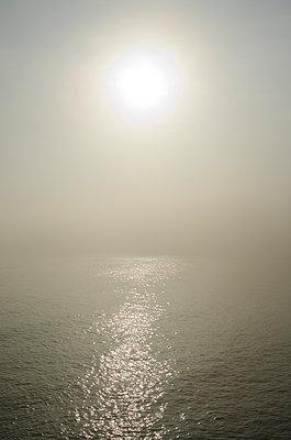 Sun Over Hazy Sea - p1562m2149710 by chinch gryniewicz