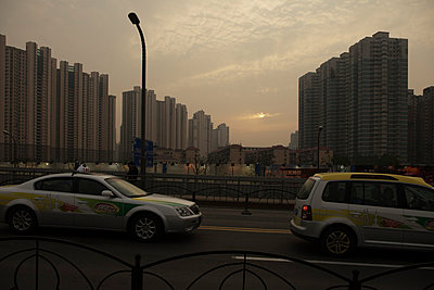 Traffic in Shanghai - p910m778255 by Philippe Lesprit