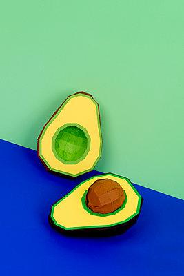 Avocado - p451m2263521 by Anja Weber-Decker
