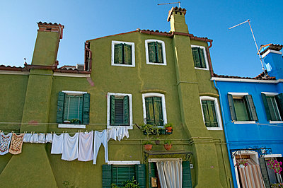 Green house in Venice - p726m2044491 by Katarzyna Zommer
