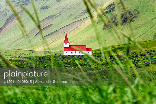 Church, Iceland - p1501m2109015 by Alexander Sommer