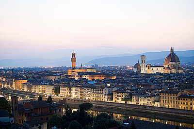 Cityscape, Florence, Italy - p9245440f by Image Source