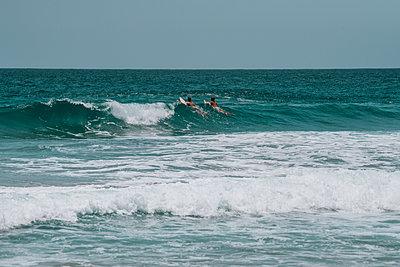 Surfer - p961m2126102 by Mario Monaco