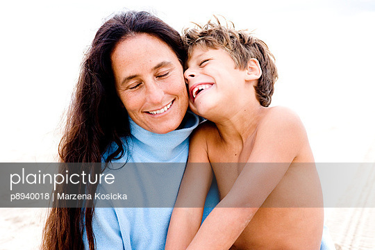 Mutter und Sohn - p8940018 von Marzena Kosicka