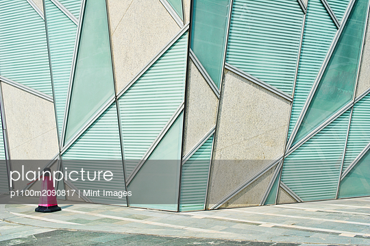 Abstract Architectural Detail - p1100m2090817 by Mint Images