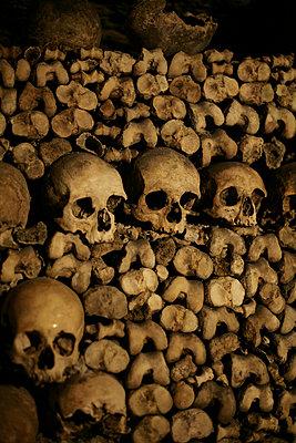 Skulls - p1028m912276 by Jean Marmeisse