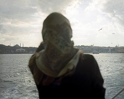 Crossing the Bosporus - p828m758020 by souslesarbres